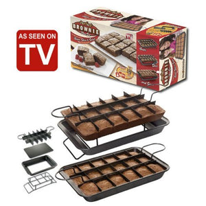 Perfect Brownie Pan Set (As Seen On TV)
