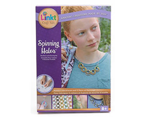 Neat-Oh Link Craft Kit Spinning Halos (5 Necklaces & 5 Pairs of Earrings)