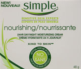 Simple Kind to Skin 24 Hour Nourishing Face Cream 48g (2 Pack)
