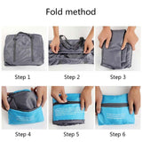Multi-Purpose Expandable Folding Travel/Gym Bag (32L) Waterproof