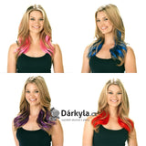 Secret Color Clip on Headband Hair Extensions-As Seen on TV