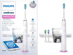 Philips Sonicare DiamondClean Smart 9300 Sonic electric toothbrush with app HX9903/01 WHITE - DealsandLiquidations.com