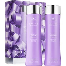 Alterna Caviar Anti Aging Restructuring Moisture Shampoo and Conditioner Duo 250 ml - DealsandLiquidations.com