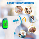 Forehead Thermometer, FDA & CE APPROVED. Infrared Digital Non-Contact Accurate Instant Readings Forehead Thermometer with LCD Display No Touch for Adults Kids Baby Objects. BLUE YHKY-2000 - DealsandLiquidations.com