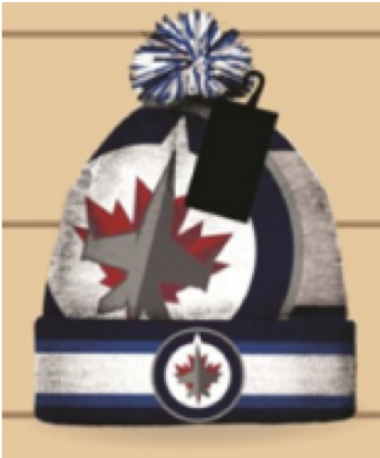 WINNIPEG JETS TOQUE/BEANIE (Official NHL Product)
