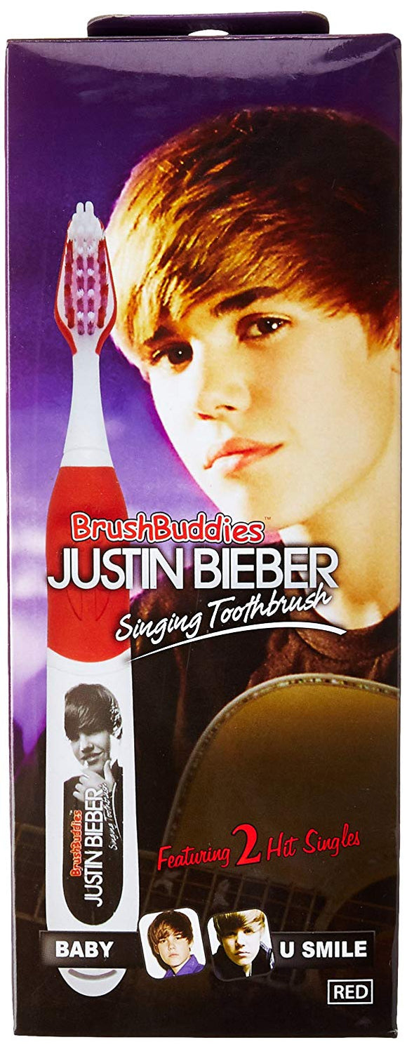 Brush Buddies Justin Bieber Singing Toothbrush - Baby And U Smile