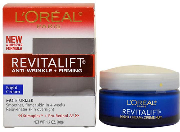 L'Oreal Paris Dermo Expertise Revitalift Anti-Wrinkle + Firming Night Cream (48g) (Pack of 2)