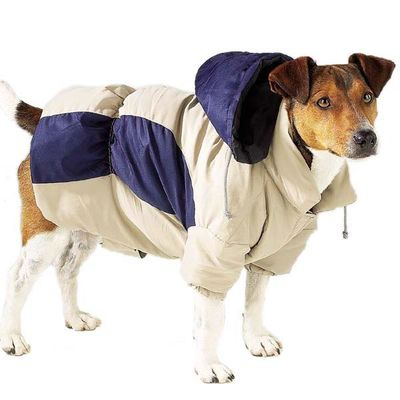 Casual Canine Base Camp Parkas - Blue Beige - DealsandLiquidations.com
