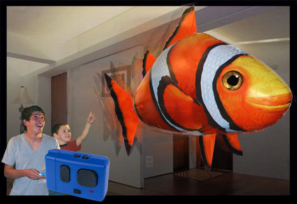 Remote Control Flying CrownFish (See Video)