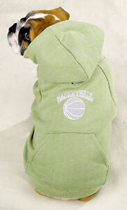 Dog Sports hooded sweatshirt Basketball by Casual Canine - DealsandLiquidations.com