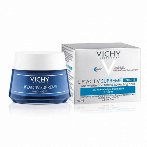 NEW Vichy LiftActiv Night Supreme Anti-Wrinkle and Firming Night Cream - DealsandLiquidations.com