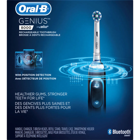 Oral B Genius 8000 Electric Toothbrush, Black