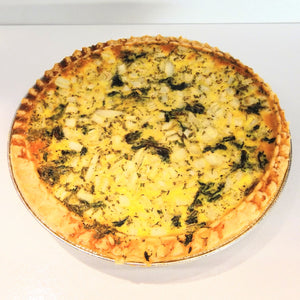 Spinach & Onion Quiche