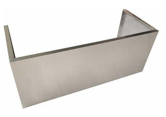 48 inch NXR Stainless Steel Chimney Extension for PH / RH Series Range Hood