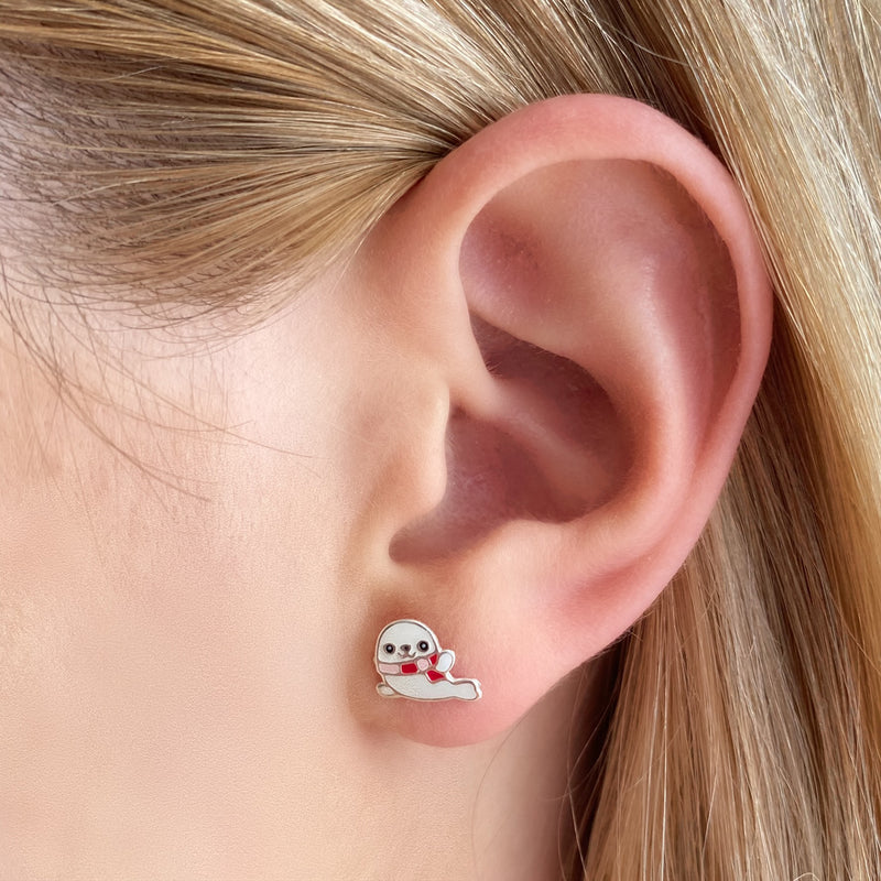 White Seal Studs