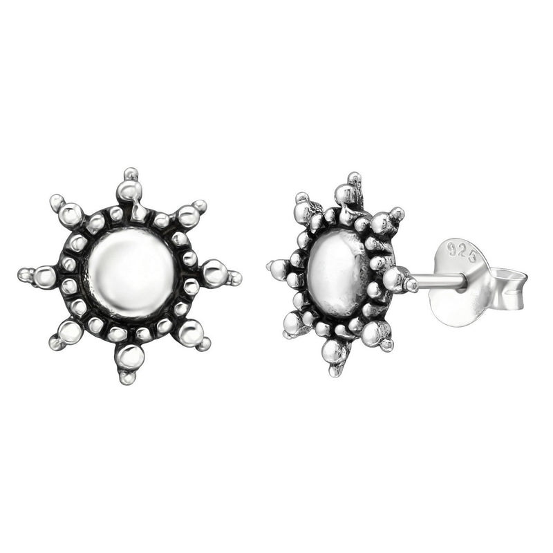 Ship Wheel Vintage Style Studs