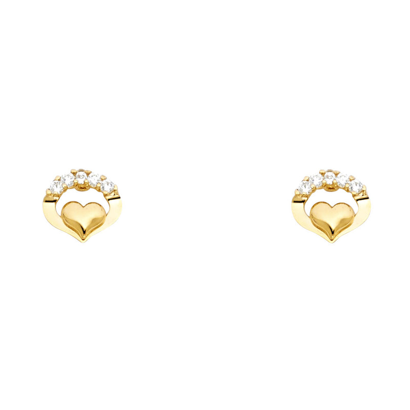 Heart Arch Studs