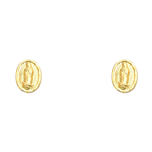 Virgin Mary Studs