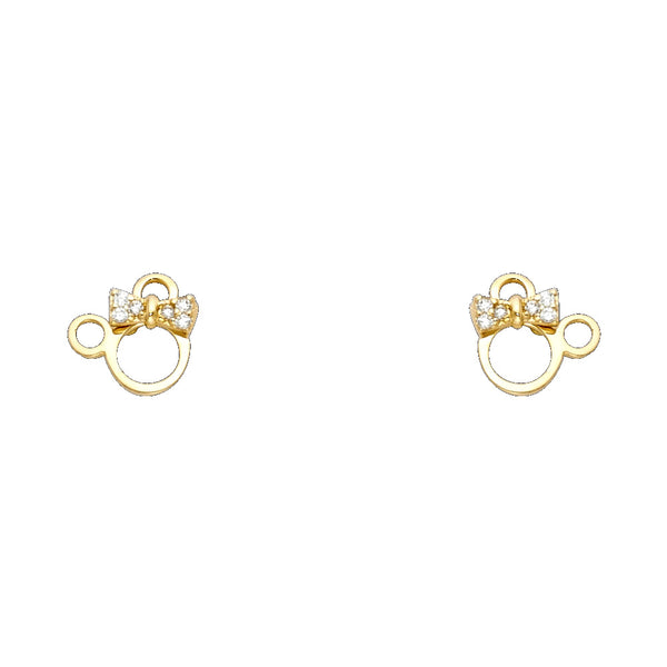 Minnie Lady Mouse Studs