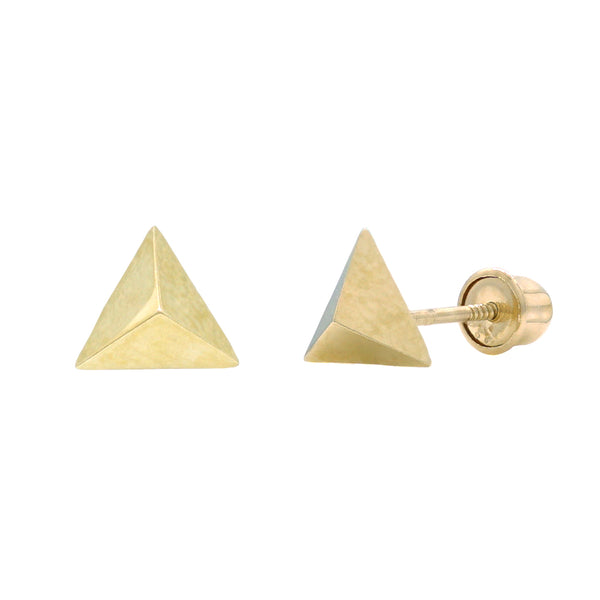 Triangle Pyramid Studs