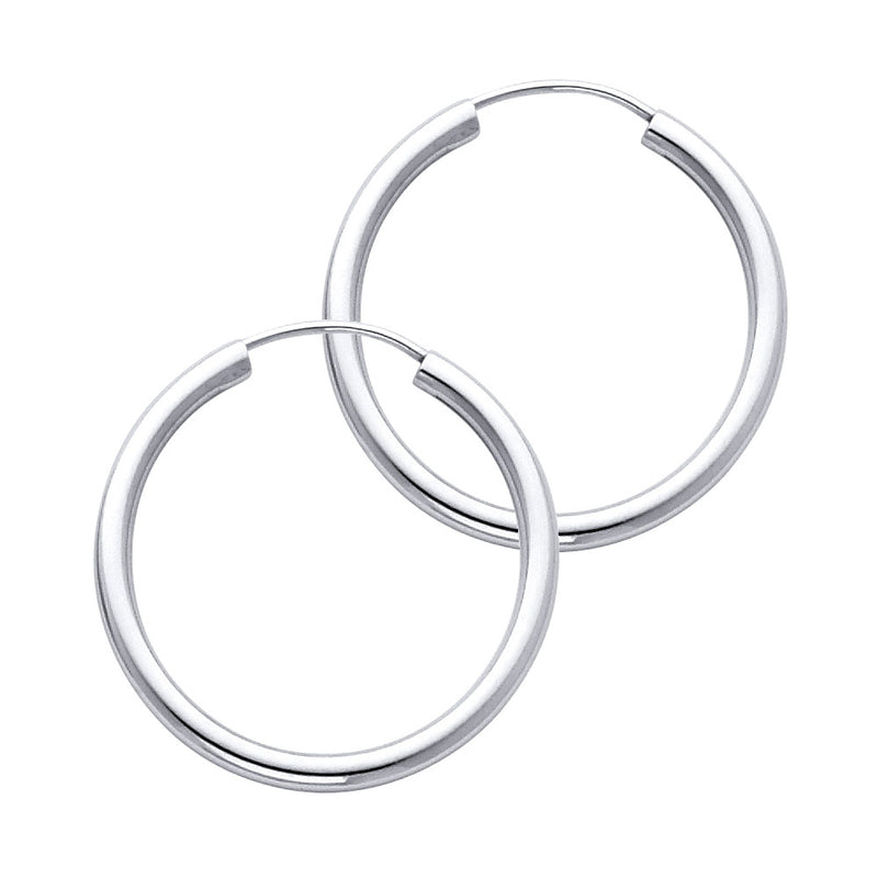 Plain Round Endless Hoops