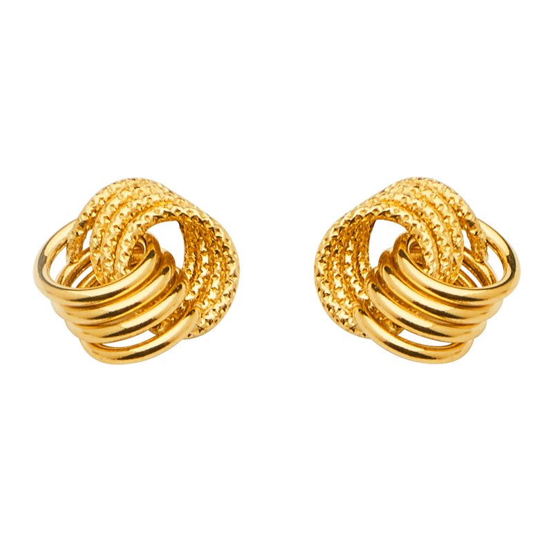 Interlocked Ring Studs