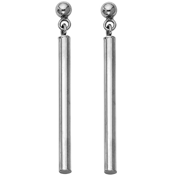 Round Bar Dangle Earrings