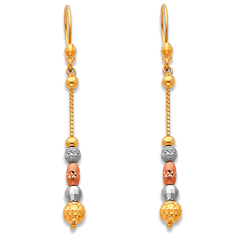 Variety Bead Drop Earrings