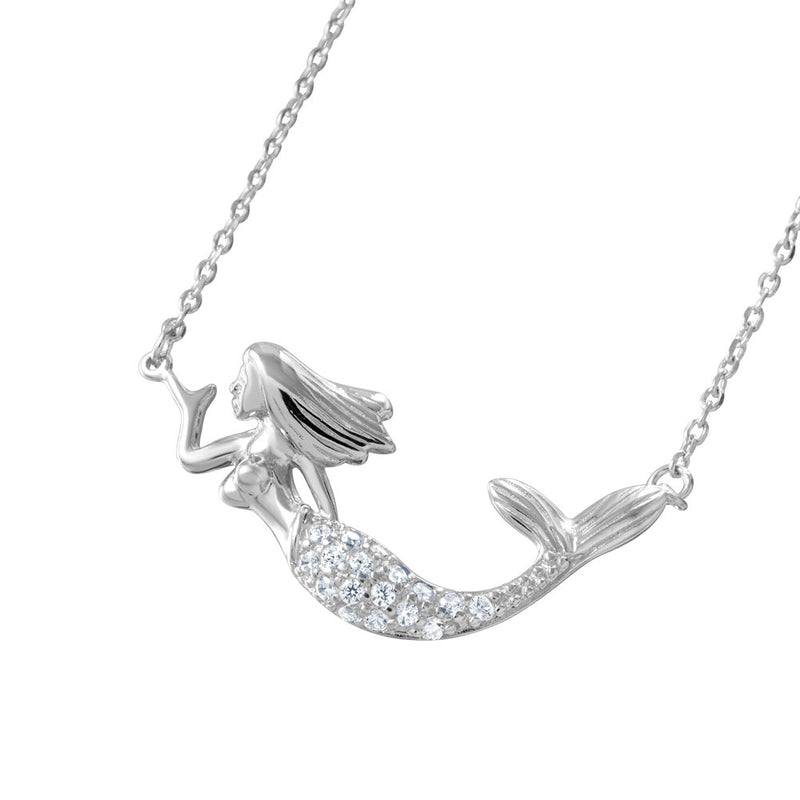 Mermaid CZ Necklace