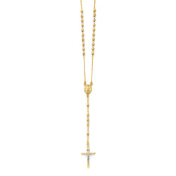 4mm Ball Rosary Necklace, 26""
