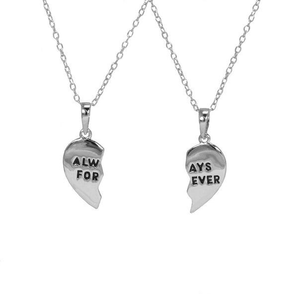 Always Forever Couple Necklace Set
