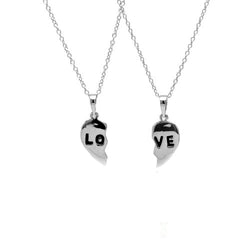Love Couple Necklace Set