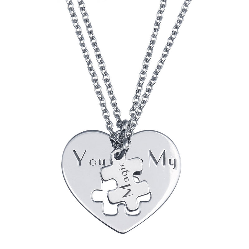 You Are My Magic Piece Pendant Necklace Set