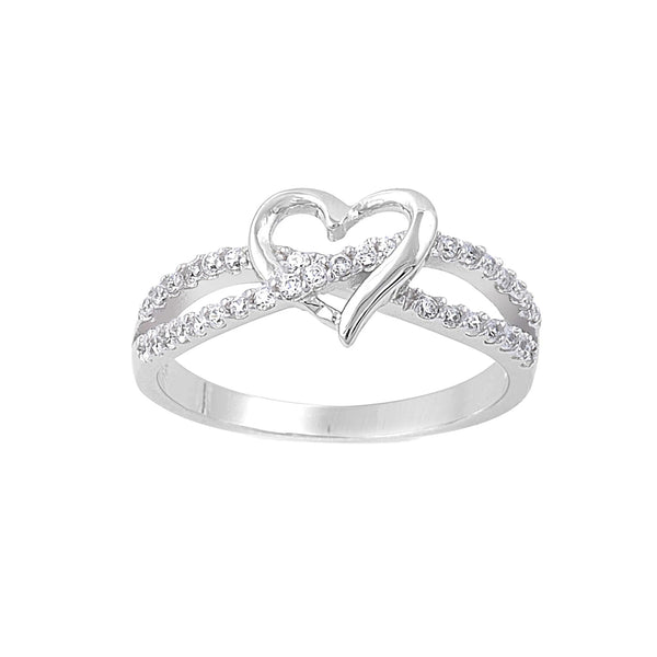 Heart Infinity Ring