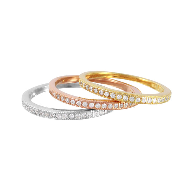Three Color Stack Bands