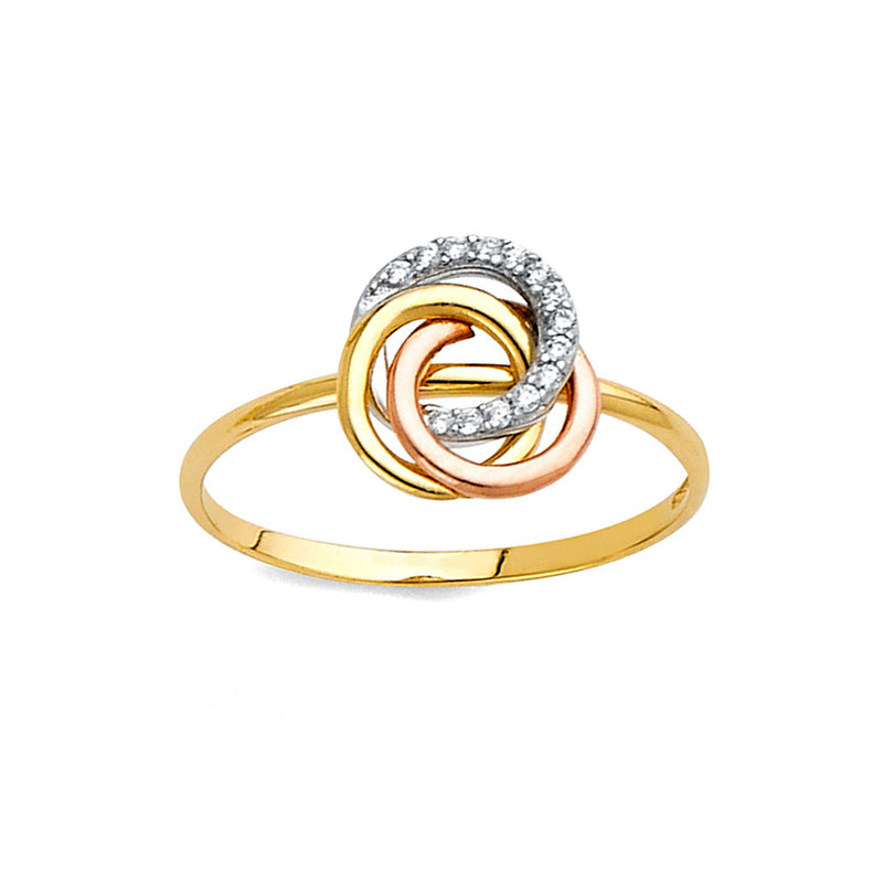 Three Rings Fashion Ring