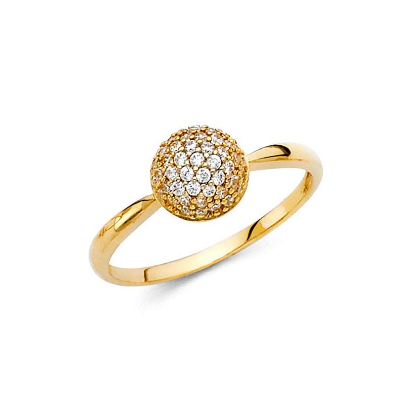 Half Sphere Ring