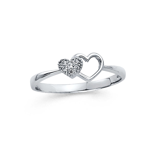 Heart of Heart Ring