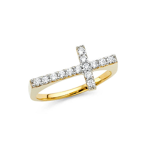 Flat Cross Ring