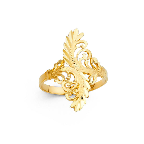 Leaf Filigree Ring