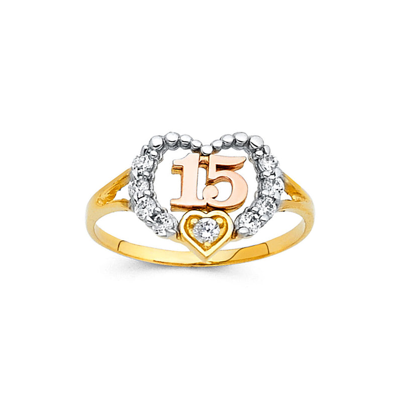 Quince Open Heart CZ Ring