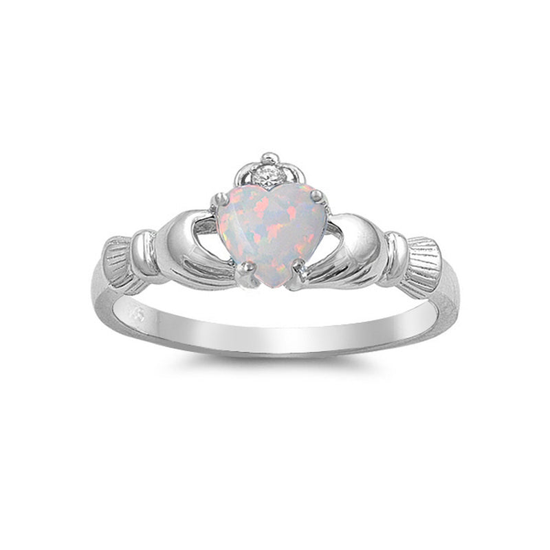 Claddagh Opal Ring