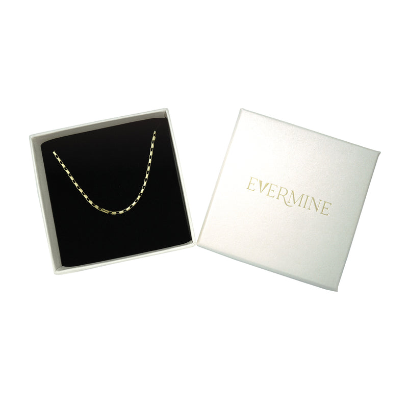 Open Box Chain Necklace