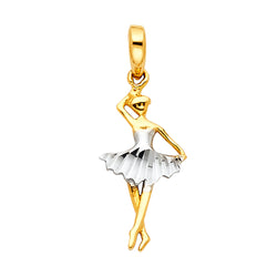 Ballerina Dancer Pendant