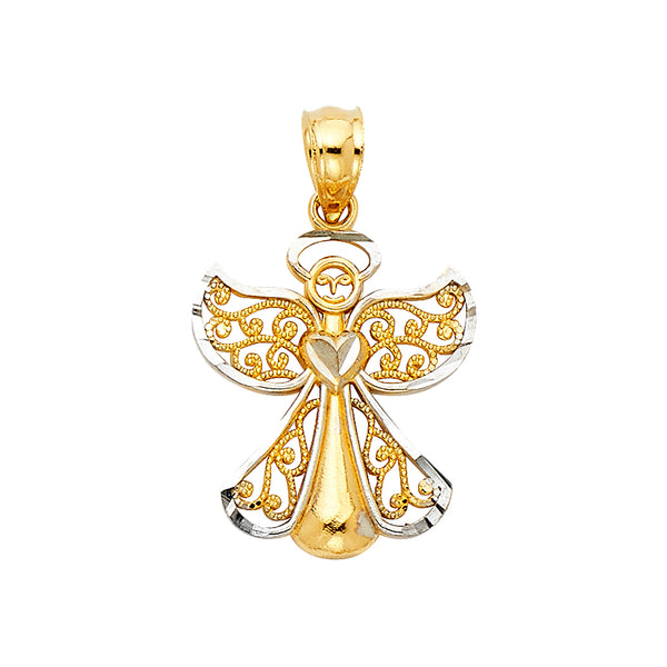 Angel Filigree Pendant