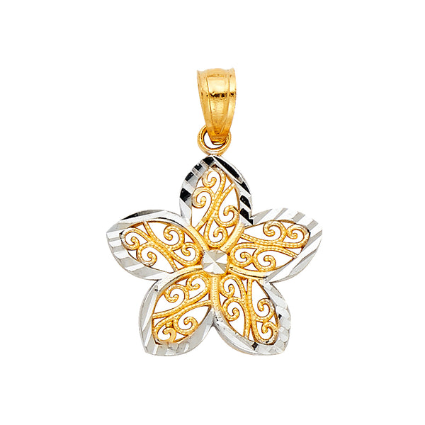 Flower Filigree Pendant