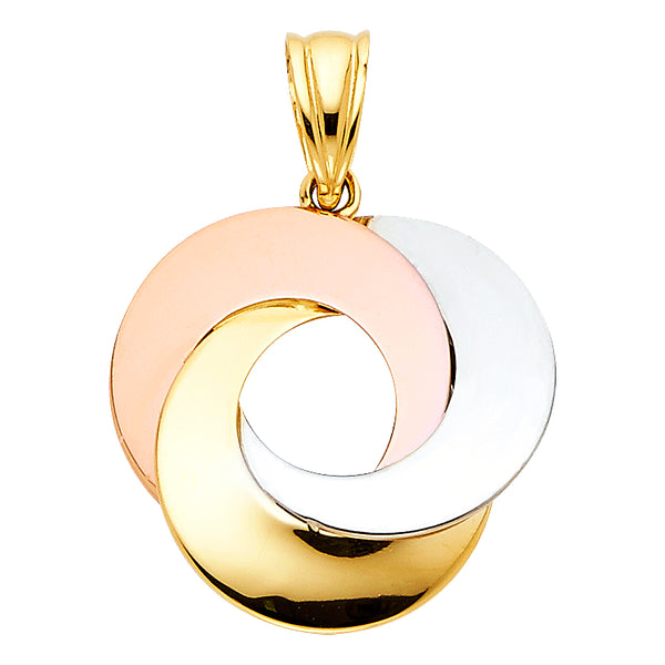 Interlocked Circle Pendant