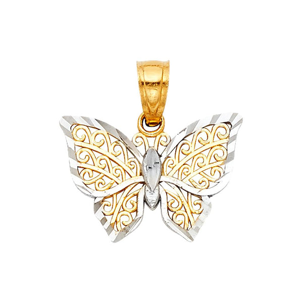 Butterfly Filigree Pendant