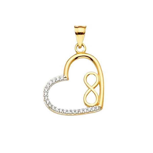 Infinite Love CZ Pendant