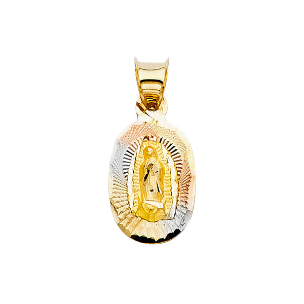 Mary of Guadalupe Oval Pendant